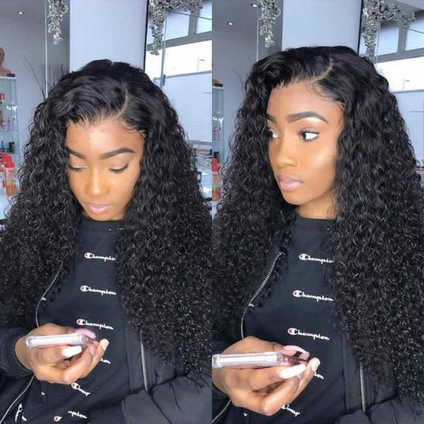 Ootdlady Chic Curly Black Wigs