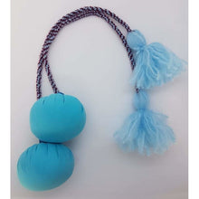 Load image into Gallery viewer, Tuwaenga (25cm) Pair of Poi with Plastic and Fabric