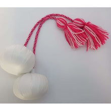 Load image into Gallery viewer, Tūwaenga (25cm) Pair of Poi with Plastic Head