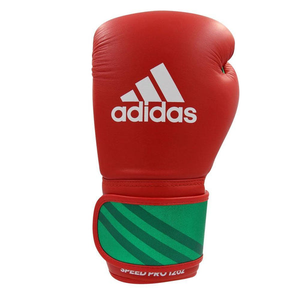 adidas Speed Pro red/green 14 oz , ADISBG350-40500-14 - Fighttrade