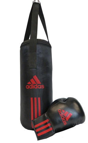 adidas Junior Boxing Set schwarz/rot, ADIBACJP