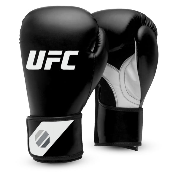 UFC Fitness Training Glove black/white/silver 12oz, UHK-75027