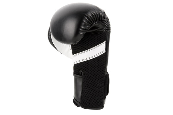101175029, UFC Fitness Training Glove black/white/silver 16oz, UHK-75029