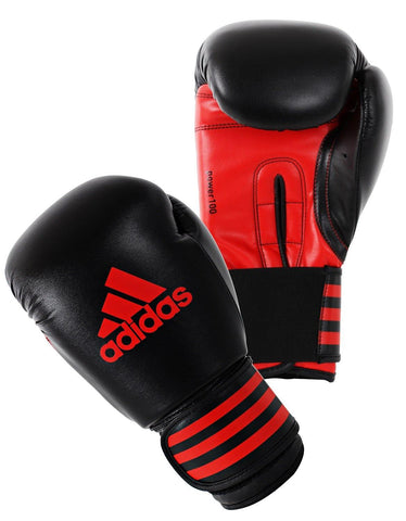15206565, adidas Boxing Boxhandschuh Power 100 8oz schw/rot, ADIPBG100