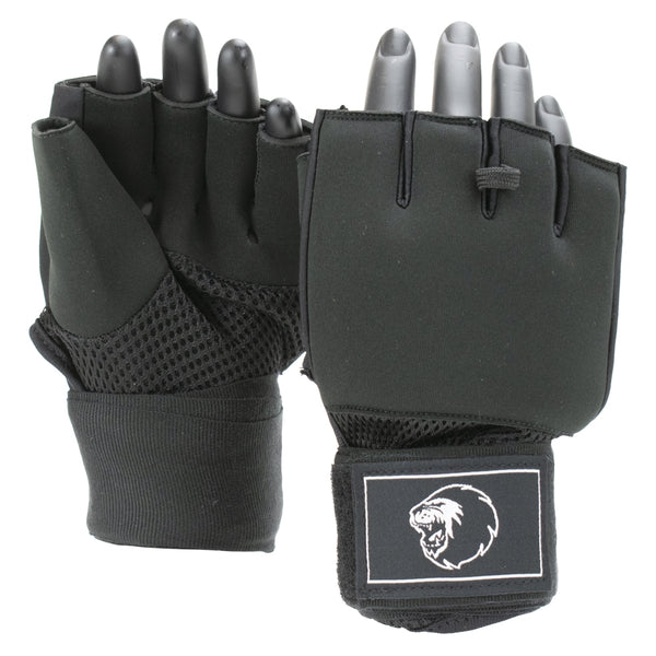 Super Pro Combat Gear Mexican Wrap Innenhandschuhe black/white M, SPHP120-90100-M