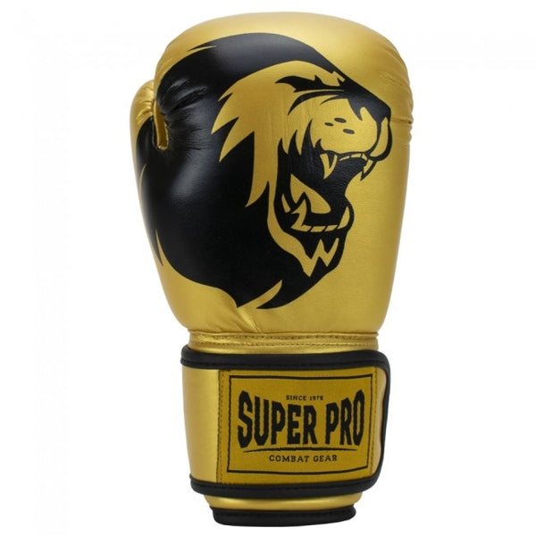 Super Pro Combat Gear Talent Kinder Boxhandschuhe gold/black 6oz , SPBG130-35900-6