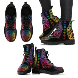 Chakra Lotus Handcrafted Boots