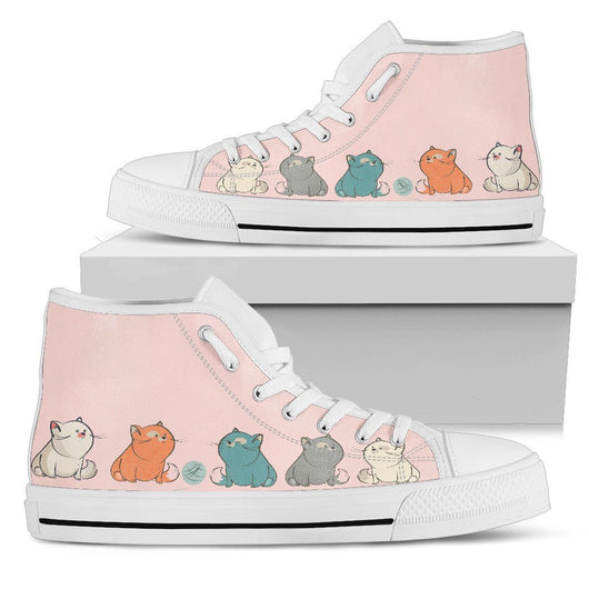 Chubby Cats Women's High Tops