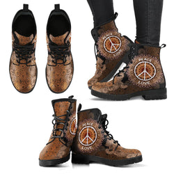 Peace & Love Handcrafted Boots
