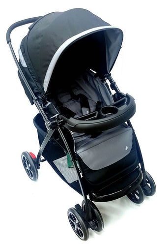 EVENFLO AEON + TRAVEL SYSTEM INCLUDING CAR SEAT GRP0 AND BELTED BASE