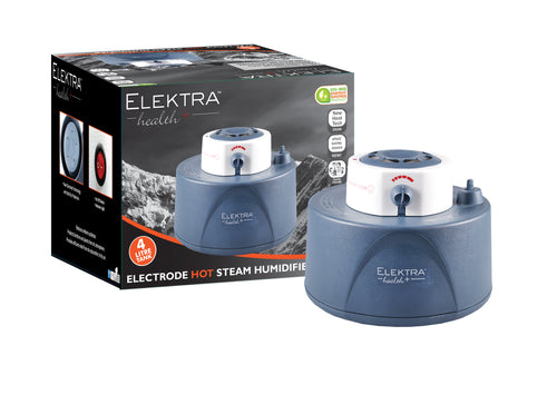 Elektra Electrode Warm Steam Humidifier 4 LITRE