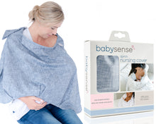 Load image into Gallery viewer, BABY SENSE apron nursing cover