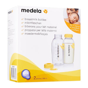 MEDELA BREAST MILK BOTTLES 250ML 2pk