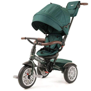 BENTLEY 6 IN 1 STROLLER TRIKE-SPRUCE GREEN