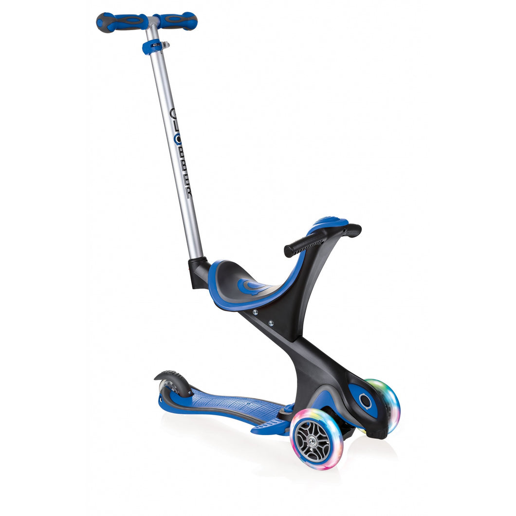 Globber Evo Comfort Scooter with lights