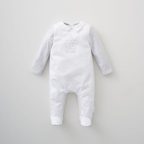Silver Cross Unisex Star Print All in one (0-3 months)