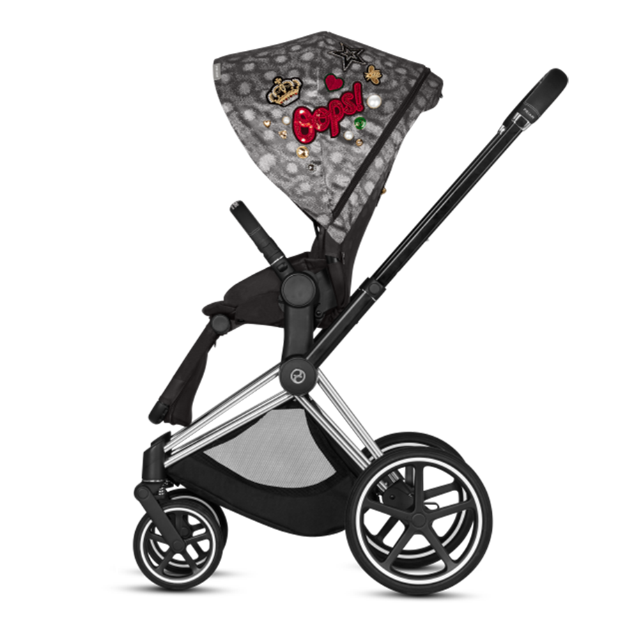 Cybex 3 in 1 PRIAM (Rebellious - Fashion Collection)