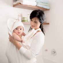 Load image into Gallery viewer, Baby Sense hooded apron bath towel