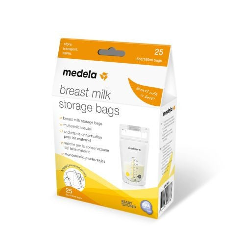 MEDELA BREAST MILK 25 STORAGE BAGS