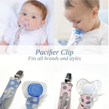 Load image into Gallery viewer, Baby Sense pacifier clip