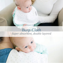 Load image into Gallery viewer, BABY SENSE burp cloth set