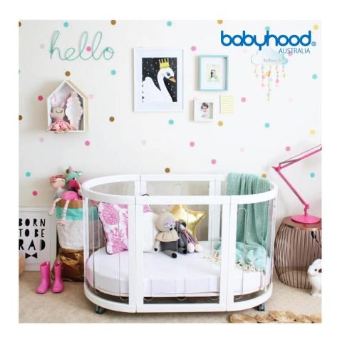 BABYHOOD KAYLULA - SOVA CLEAR WHITE