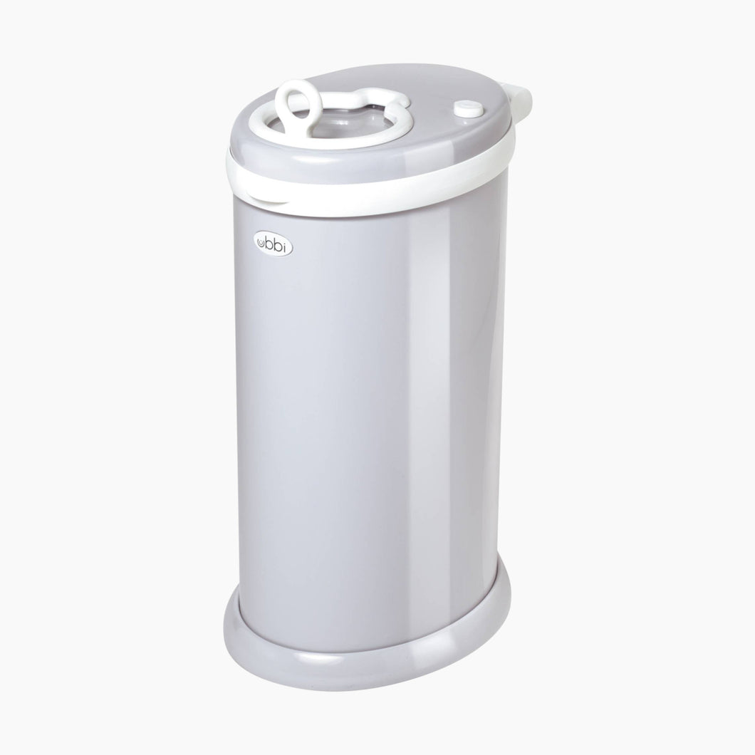 UBBI DIAPER PAIL- LIGHT GREY