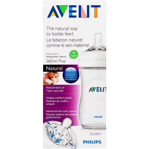 PHILIPS AVENT NATURAL 260ML BOTTLE