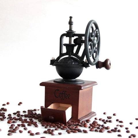 Manual Vintage Coffee Bean Grinder