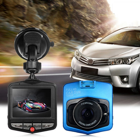 CAR Full 1080p HD DVR Dash Camera With Night Vision -  Blue