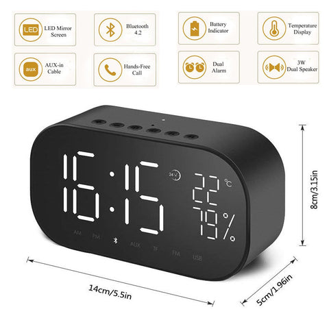 Multi-Purpose LED Alarm Clock