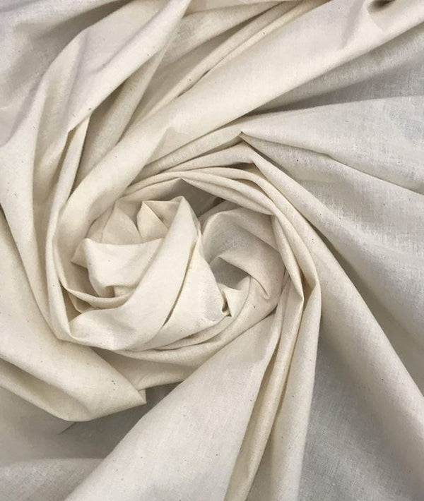 Natural Muslin Unbleached