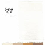 "Load image into Gallery viewer, 100% Cotton Gauze Fabric | Soft Lightweight Cotton Muslin | 48"" Wide 
