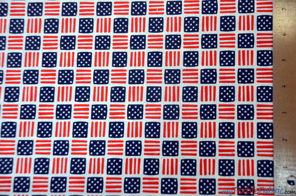 American Flag Cotton