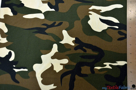 Army Camouflage Cotton
