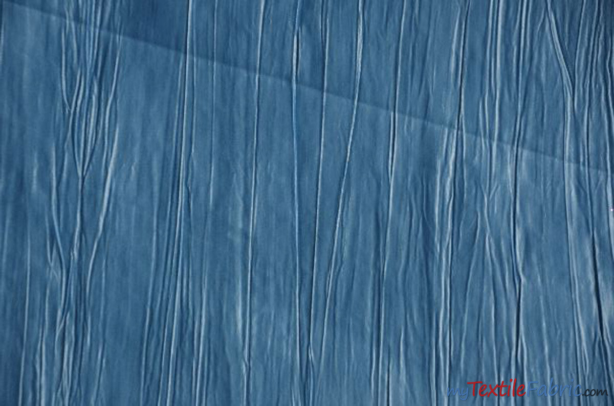 "Crease Taffeta Fabric | Crush Taffeta | 52"" Wide 