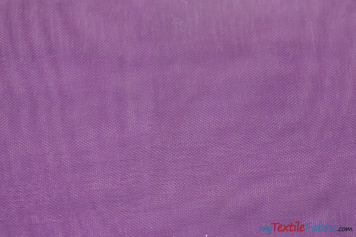 "Soft and Smooth Mirror Organza Fabric | 60"" Wide 