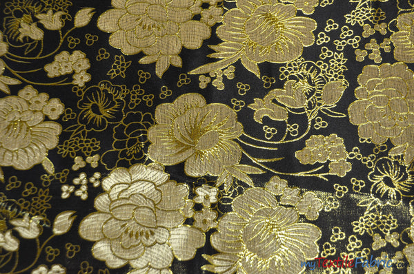 Metallic Brocade B23