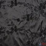 "Load image into Gallery viewer, Ribbon Taffeta Fabric | Ribbon Cord Taffeta Embroidery | 54"" Wide 