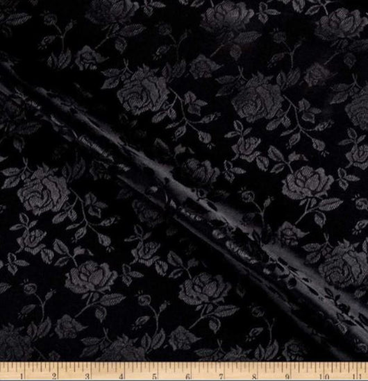 Satin Jacquard | Satin Flower Brocade | 60
