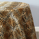 "Load image into Gallery viewer, Animal Cheetah Satin Print Fabric | Soft Cheetah Charmeuse Satin | 60"" Wide 