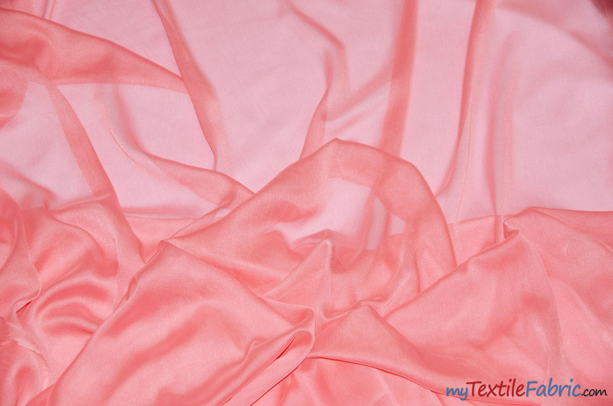 "Two Tone Chiffon Fabric | Iridescent Chiffon Fabric | 60"" Wide 