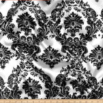 "Load image into Gallery viewer, Damask Satin Fabric | Silky Soft Satin Damask Charmeuse Fabric | 60"" Wide 