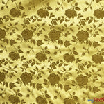 "Load image into Gallery viewer, Satin Jacquard | Satin Flower Brocade | 60"" Wide 