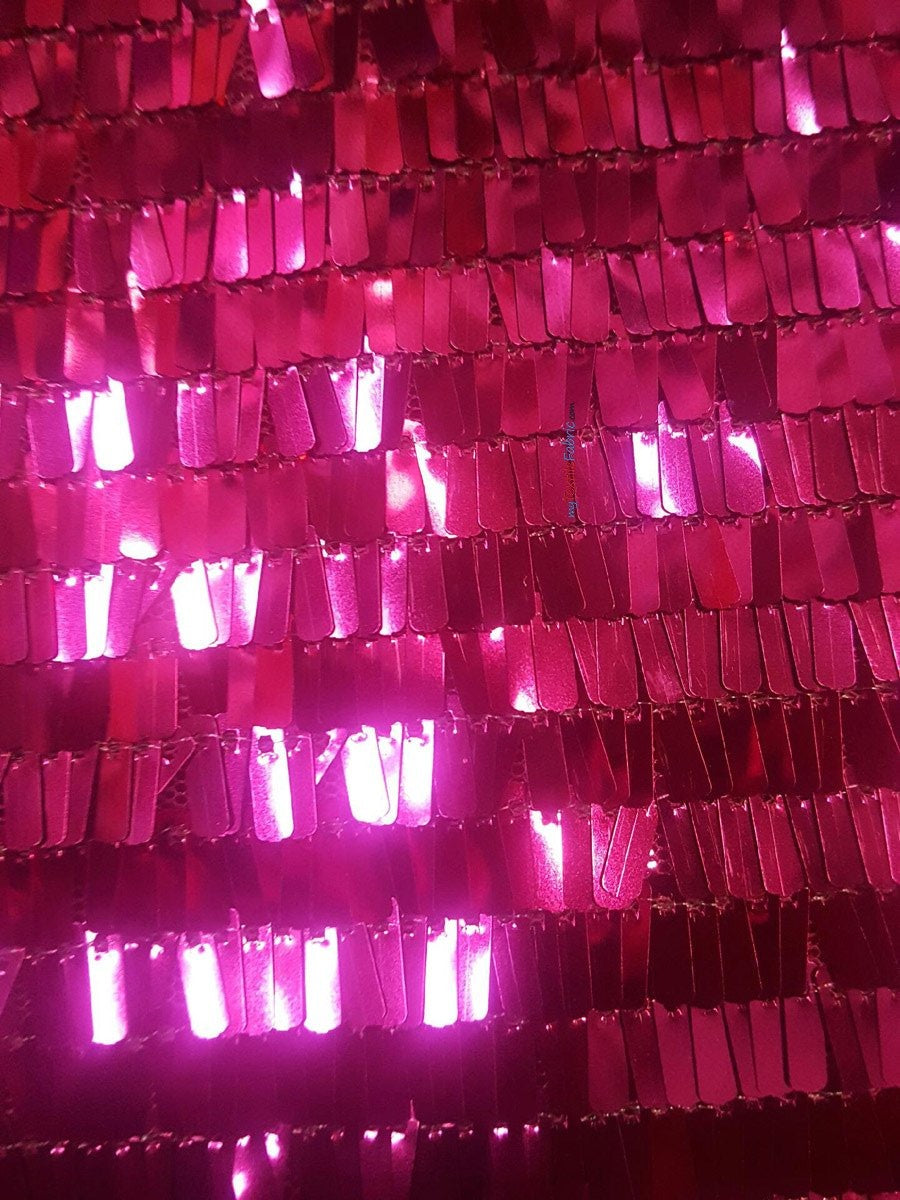 "Piano Sequins Fabric | Fringe Sequins | 50/52"" Wide 