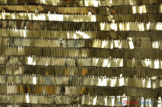 Piano Sequins Fabric | Fringe Sequins | 50/52