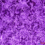 "Load image into Gallery viewer, Rosette Satin Fabric | Wedding Satin Fabric | 54"" Wide 