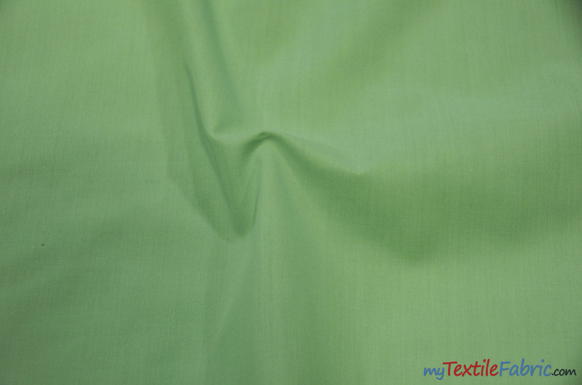 "Polyester Cotton Broadcloth Fabric | 60"" Wide 