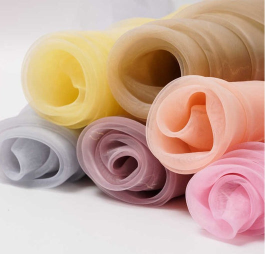 Soft and Smooth Mirror Organza Fabric | 60
