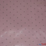 "Load image into Gallery viewer, Mini Star Silky Satin Fabric | Soft Mini Star Charmeuse Fabric | 60"" Wide 